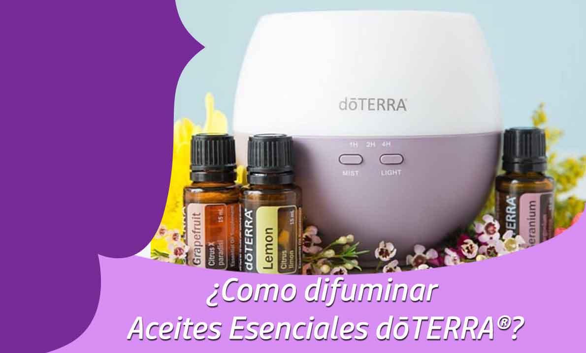 ¿Como difuminar Aceites Esenciales dōTERRA®?